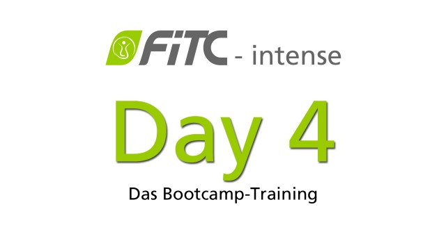 30 Day Challengen - FiTC intense Bootcamp Training Tag 4
