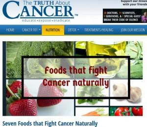 Sieben Lebensmittel die als natürliche Krebsbehandlung eingesetzt werden können
