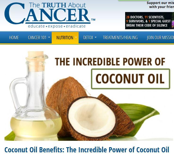 Artikel: Die unglaubliche Wirkung von Kokosnuss Öl