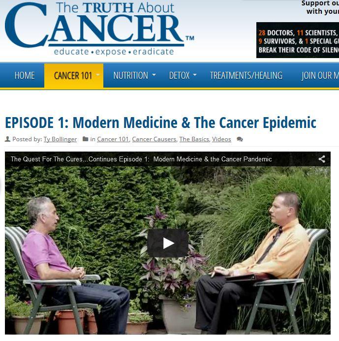 Episode 1 Die moderne Medizin und die Krebs Epidemie