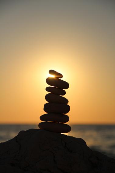 Leben ist fließende Energie
