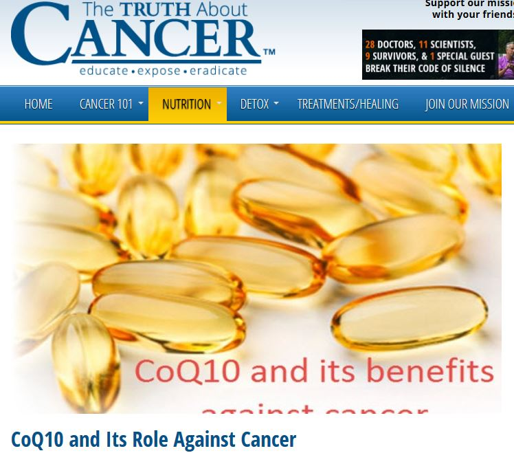 Artikel: Die Rolle von CoQ10 bei Krebs